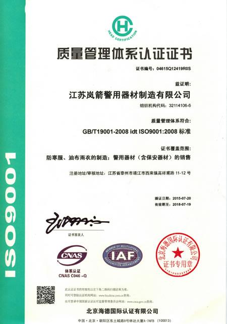质量管理体体系中文